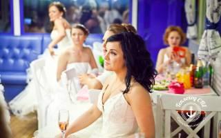Свадьба на теплоходе 2017
