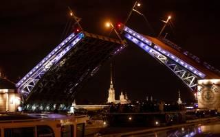 Круиз «Музыка Разводных мостов»