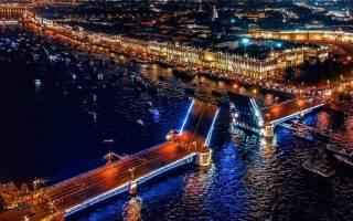 Экскурсия Петербургские разводные мосты