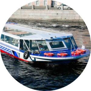 Аренда теплохода Аполлон в Санкт-Петербурге