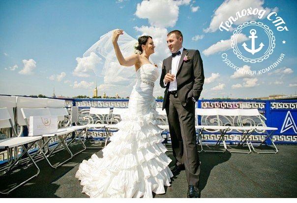 Аренда теплохода на свадьбу СПб