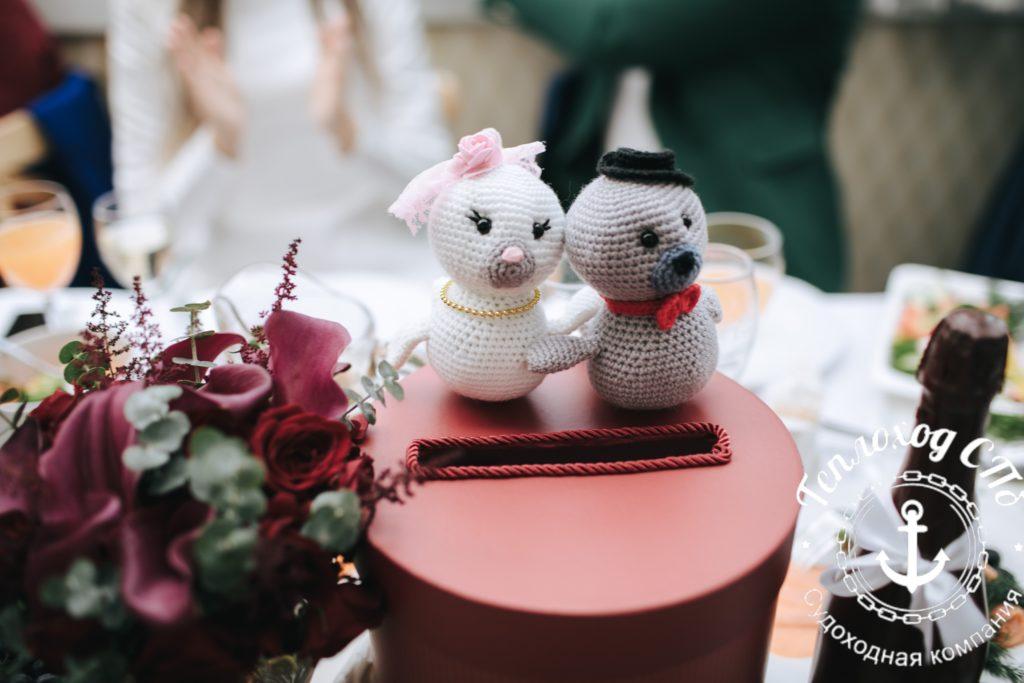 свадьба на теплоходе Гармония
